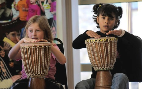 Musical Villages introduces children to a range of alternative musical genres