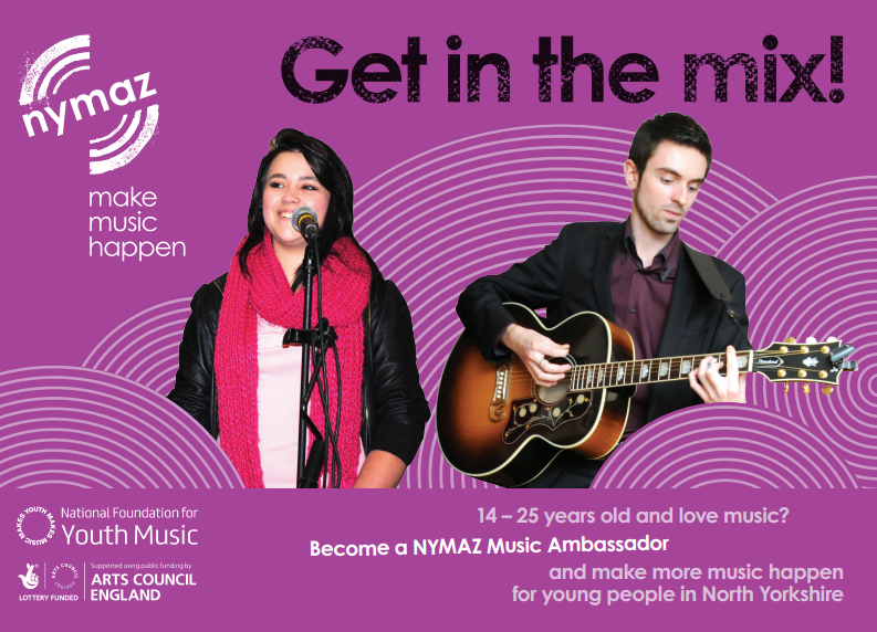 Become a NYMAZ Music Ambassador!